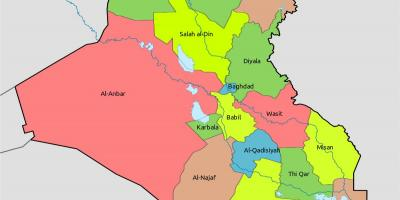 Mapa Kuvajt Mapa